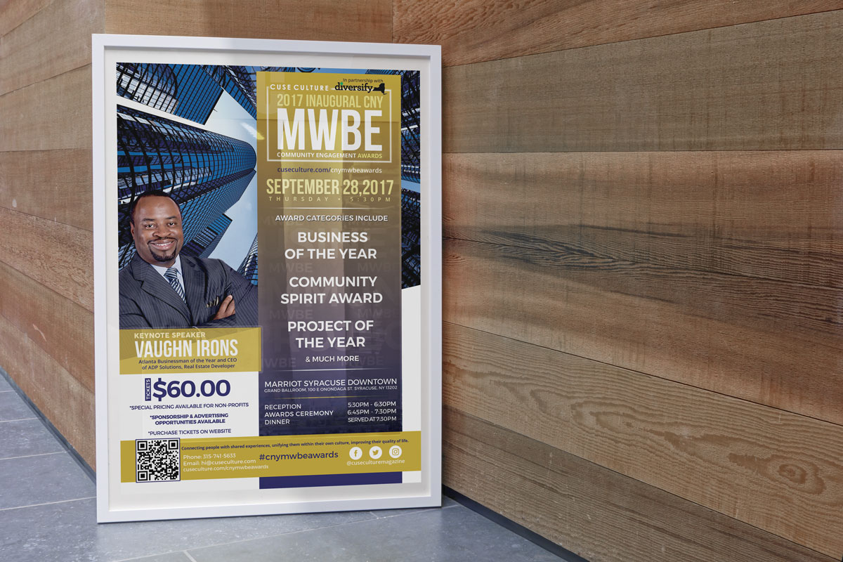 Cuse Culture – MWBE Flyer