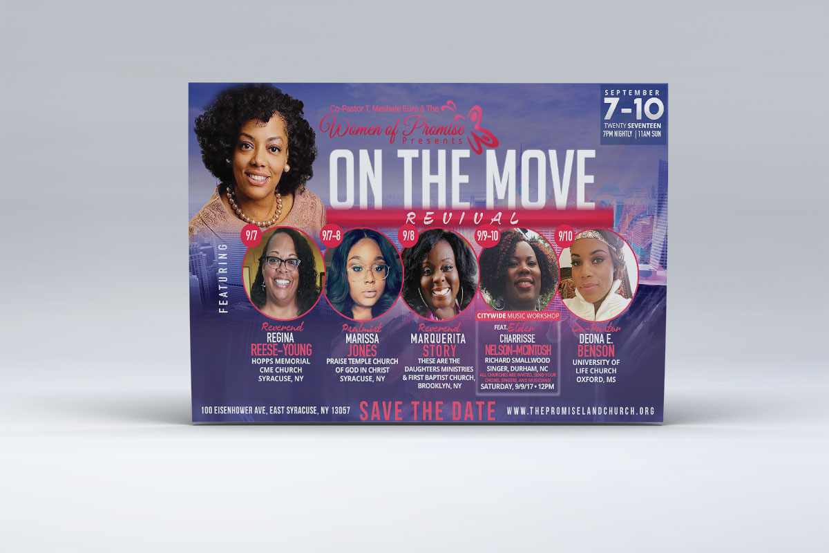 Promise Land – One The Move Flyer