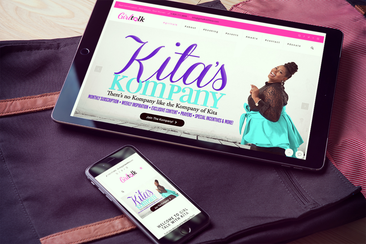 Girl Talk With Kita Web