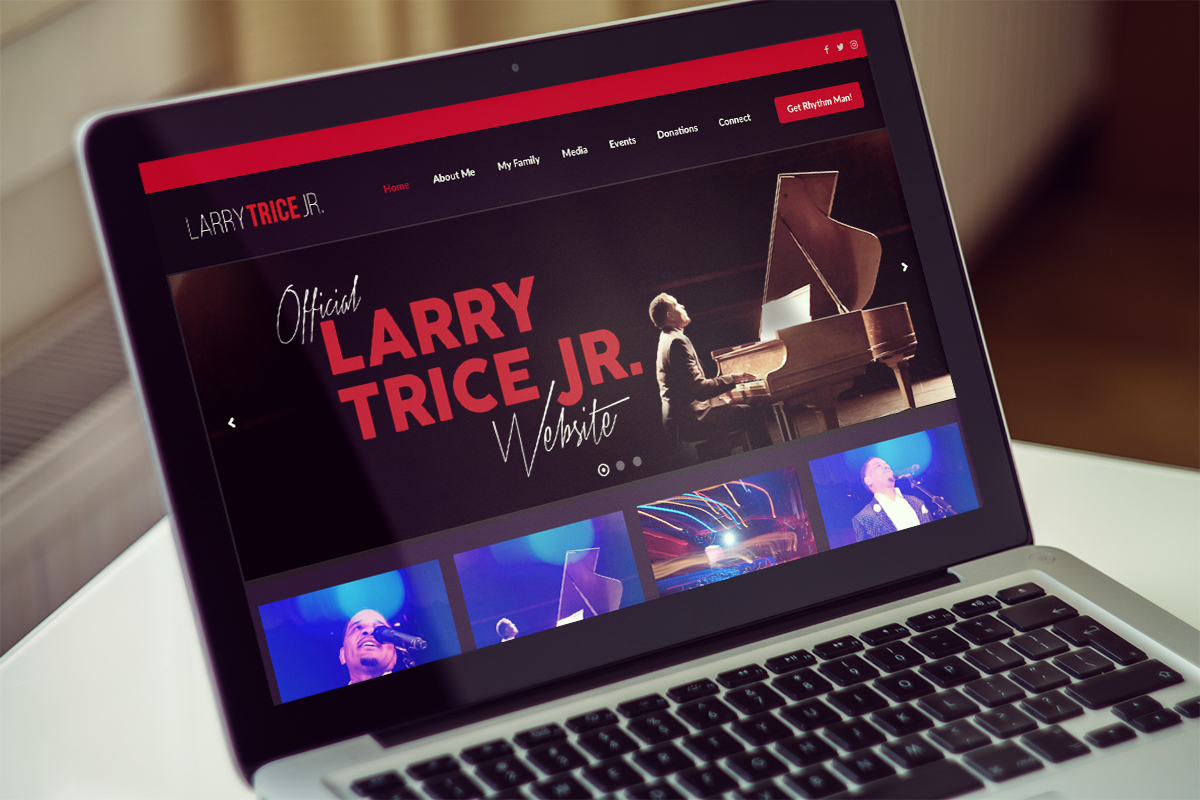 Larry Trice Jr. Web