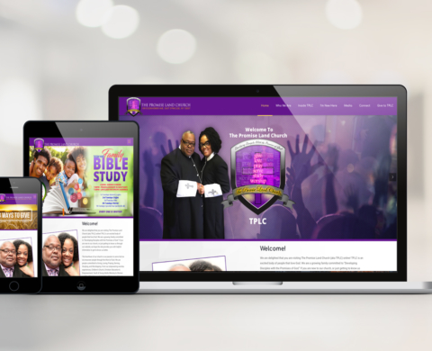 Promise Land Church Web Redesign